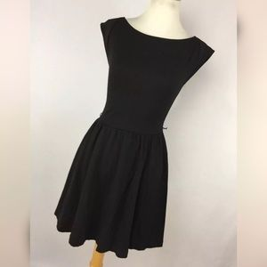 AX Armani Exchange XS Dress Black Fit And Flare